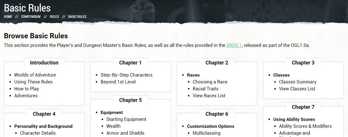 Basic Rules!