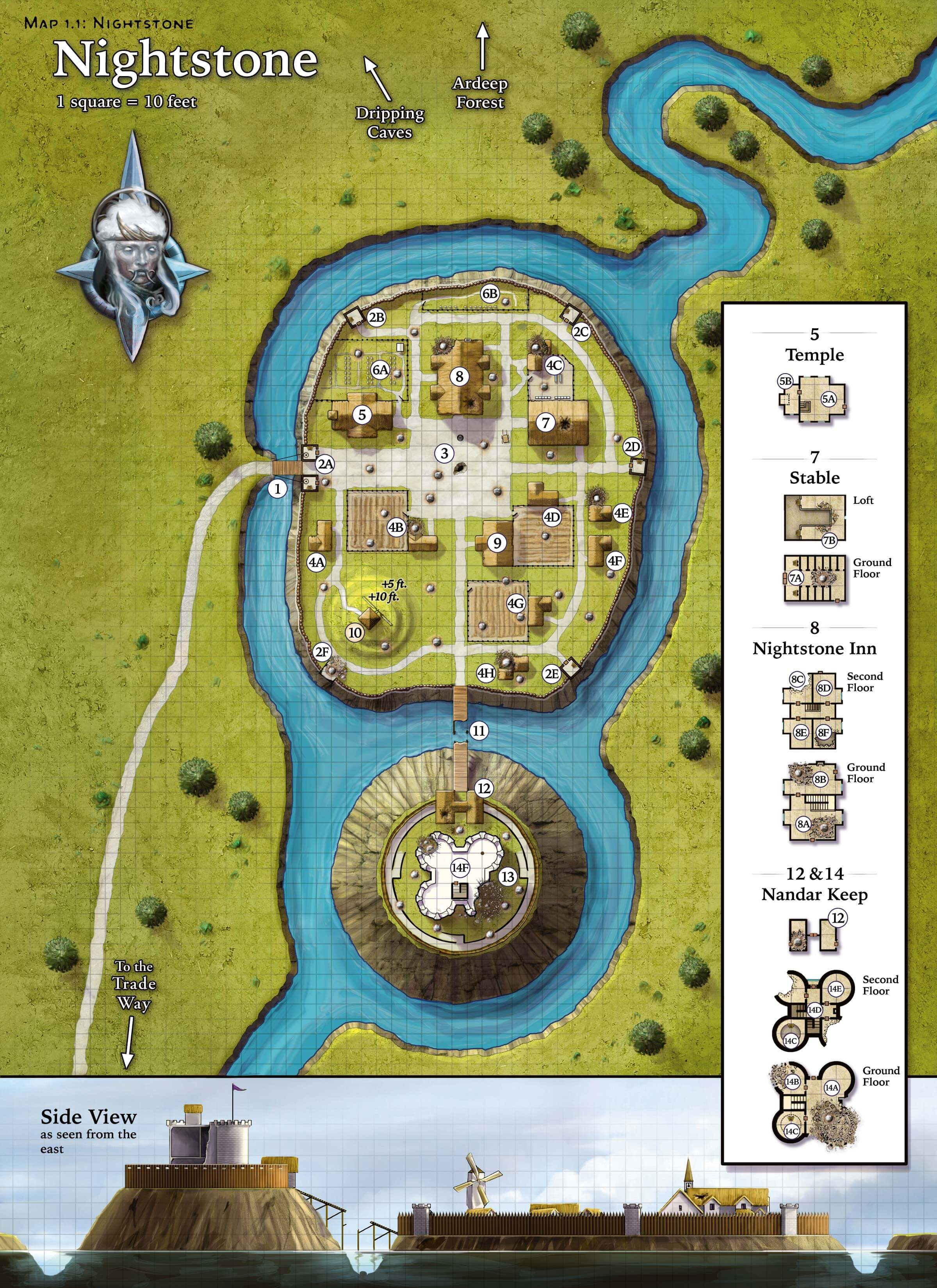 Ambitious image within storm king's thunder printable maps