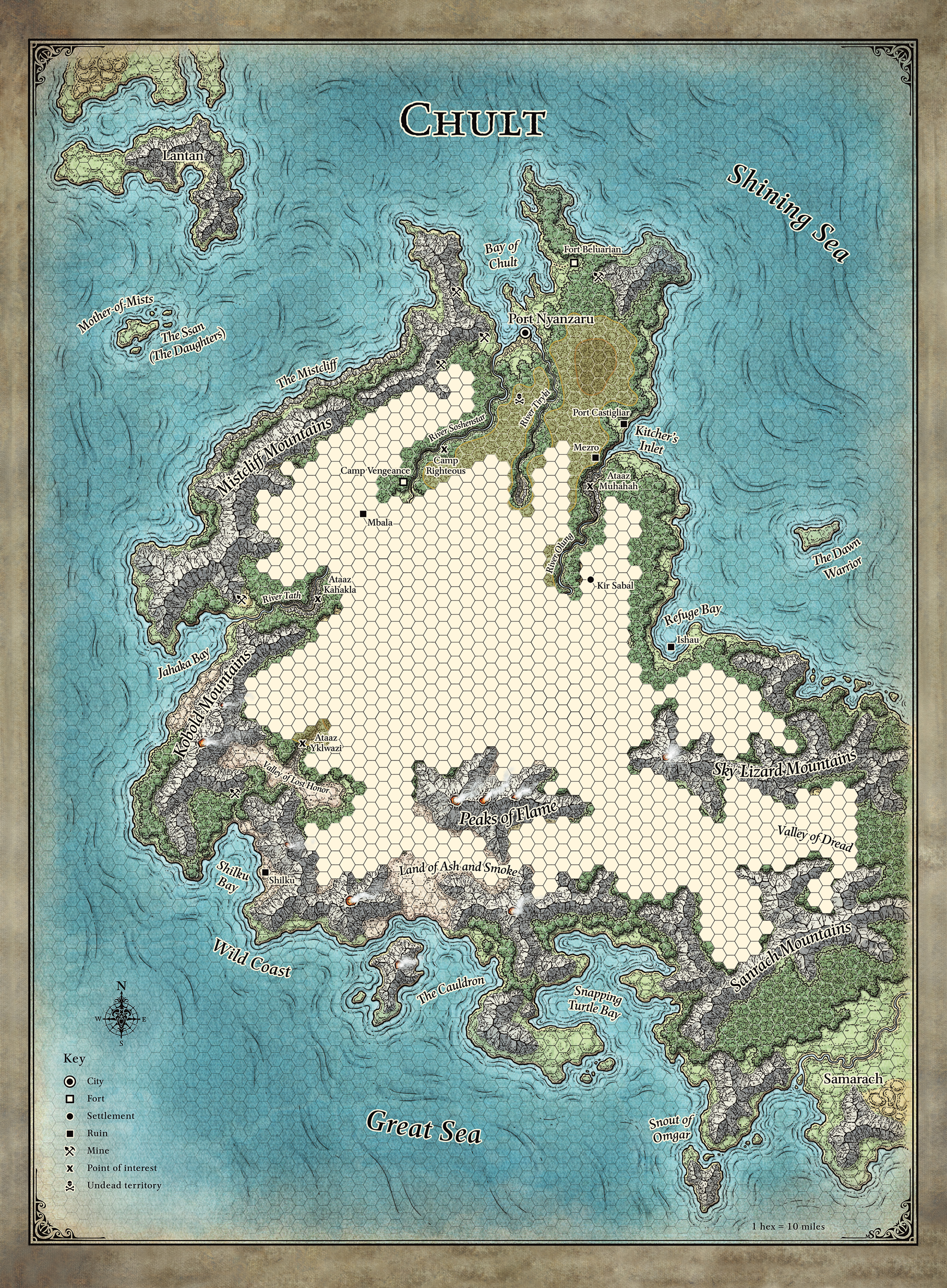 Map of Chult