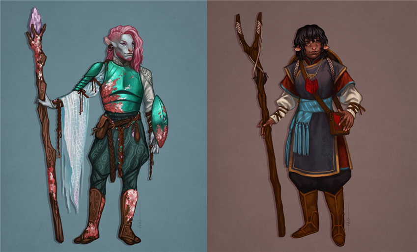 Putting the Fur in Firbolg: The Evolution of a Character