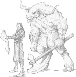Encounter of the Week: The Lost Minotaur - Posts - D&D Beyond