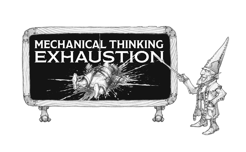 Mechanical Thinking Exhaustion As Damage Posts D D Beyond