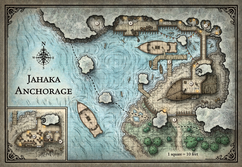 The Best Maps of Fifth Edition D&D - Posts - D&D Beyond