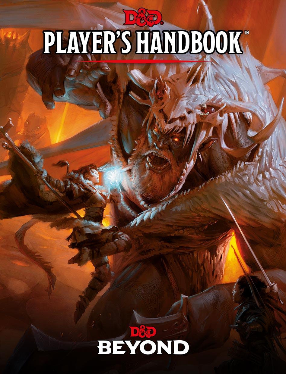 Player's Handbook Cover Art