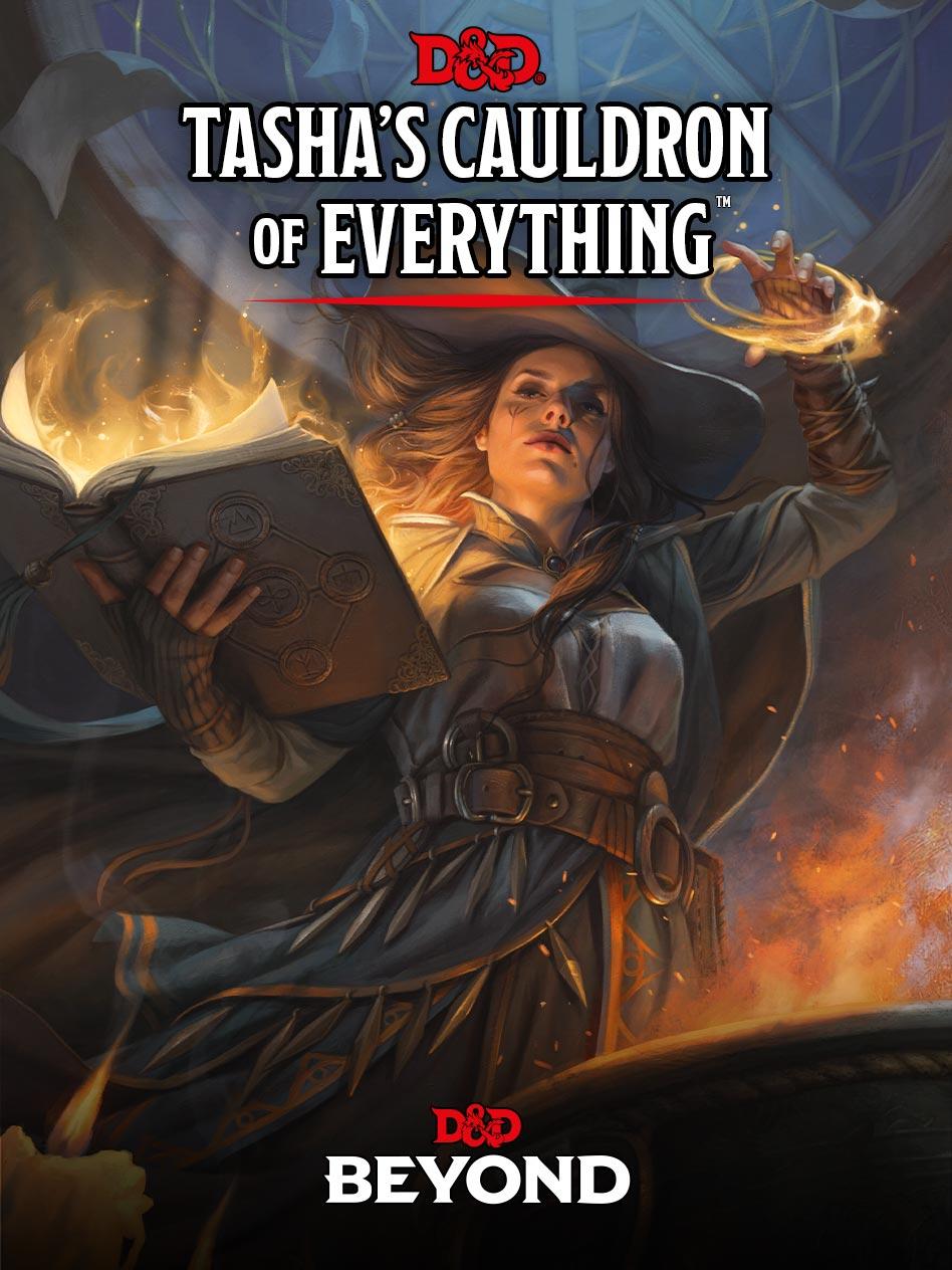 Tasha's Cauldron of Everything Cover Art
