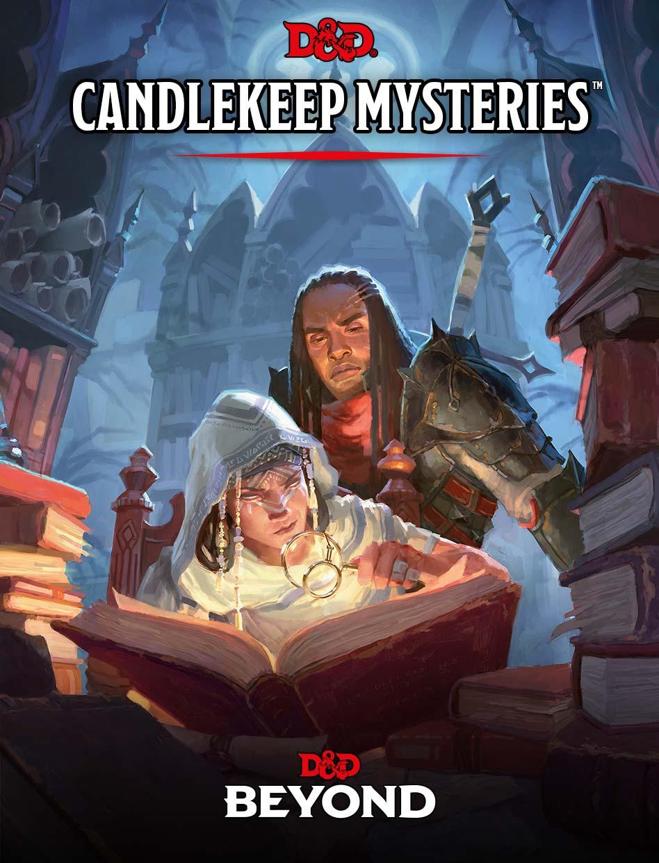 Candlekeep Mysteries Cover Art