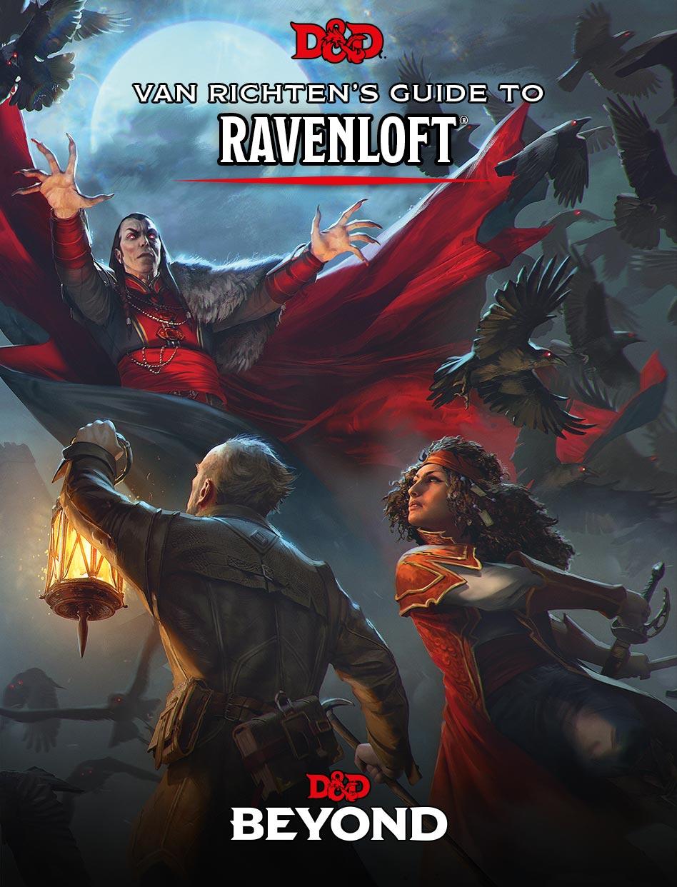 Van Richten's Guide to Ravenloft Cover Art