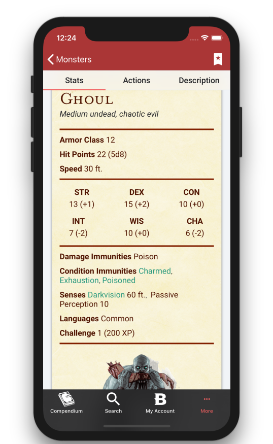 Listings Added to Mobile App - October 16th, 2018 - Changelog - D&D