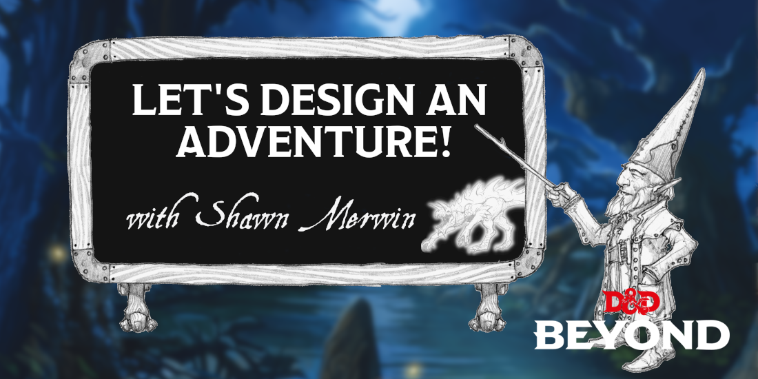 Let's Design an Adventure: Boxed Text