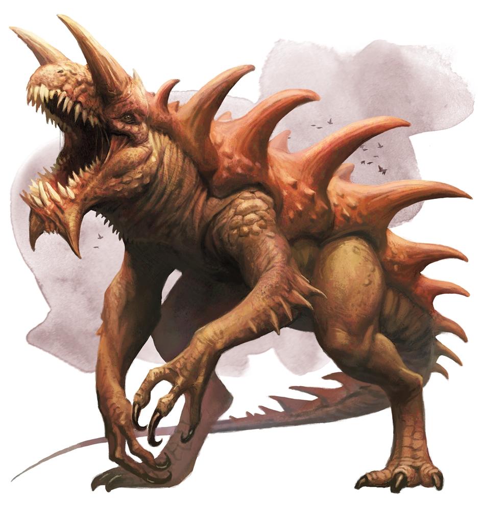 Tarrasque - Monsters - D&D Beyond