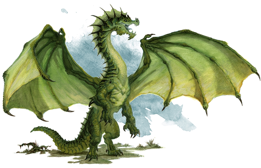 Ancient Green Dragon - Monsters - D&D Beyond