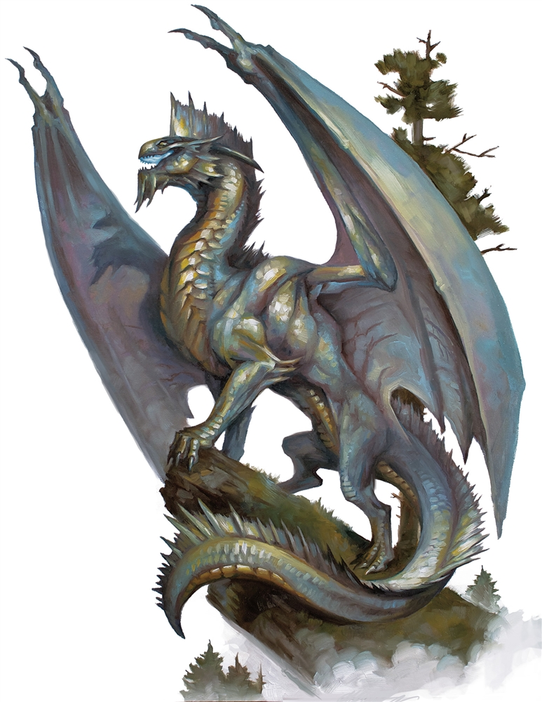 Silver Dragon Wyrmling - Monsters - D&D Beyond