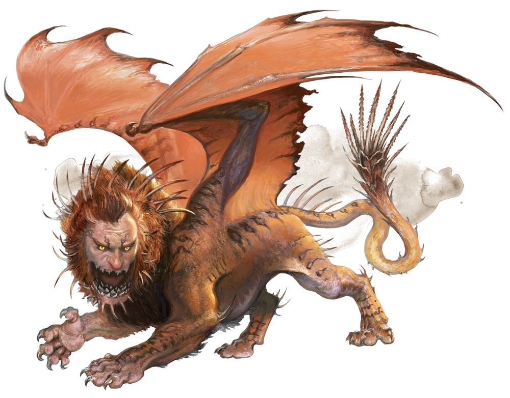 Image result for manticore