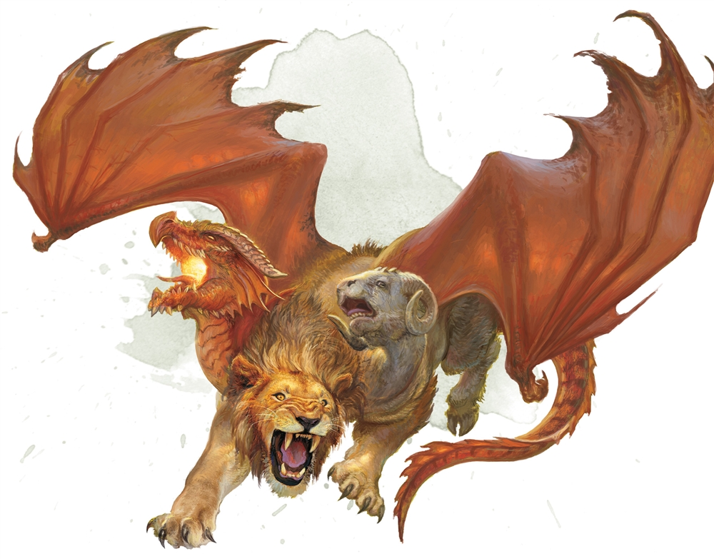 Chimera - Monsters - D&D Beyond