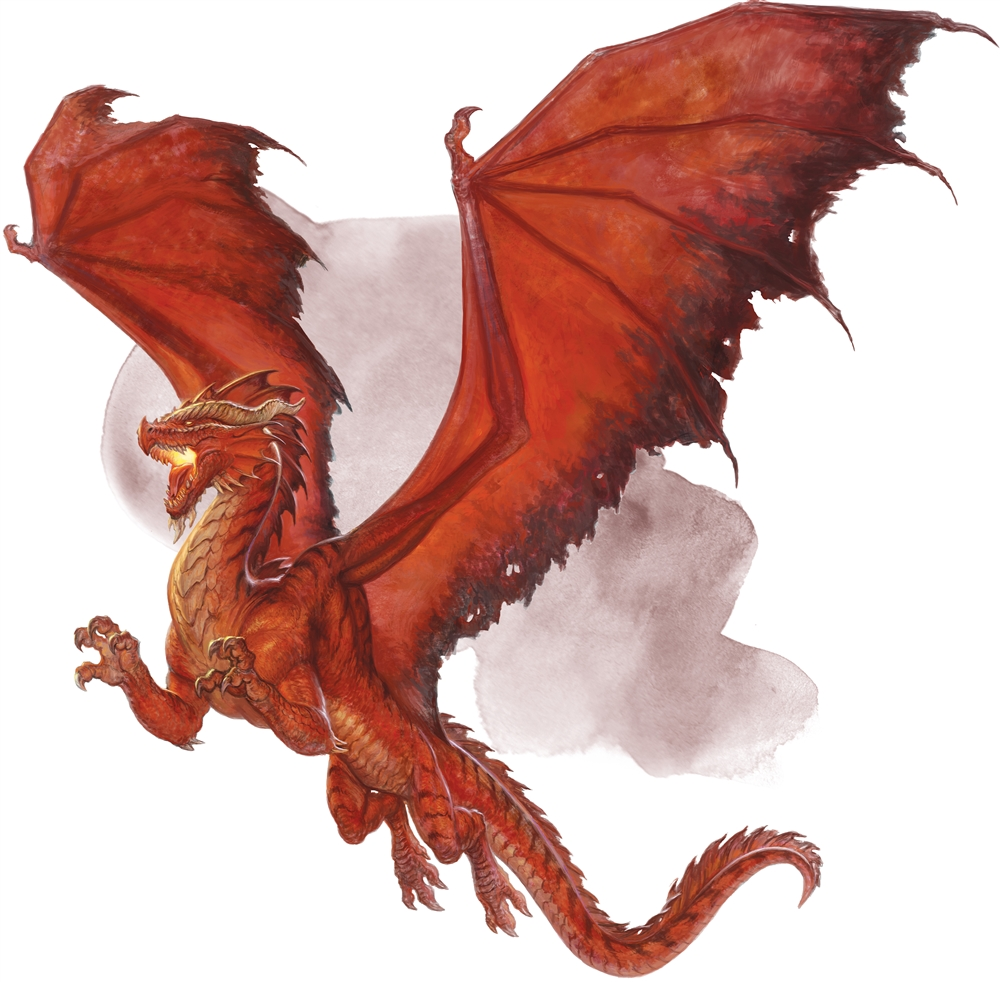 Adult Red Dragon - Monsters - D&D Beyond