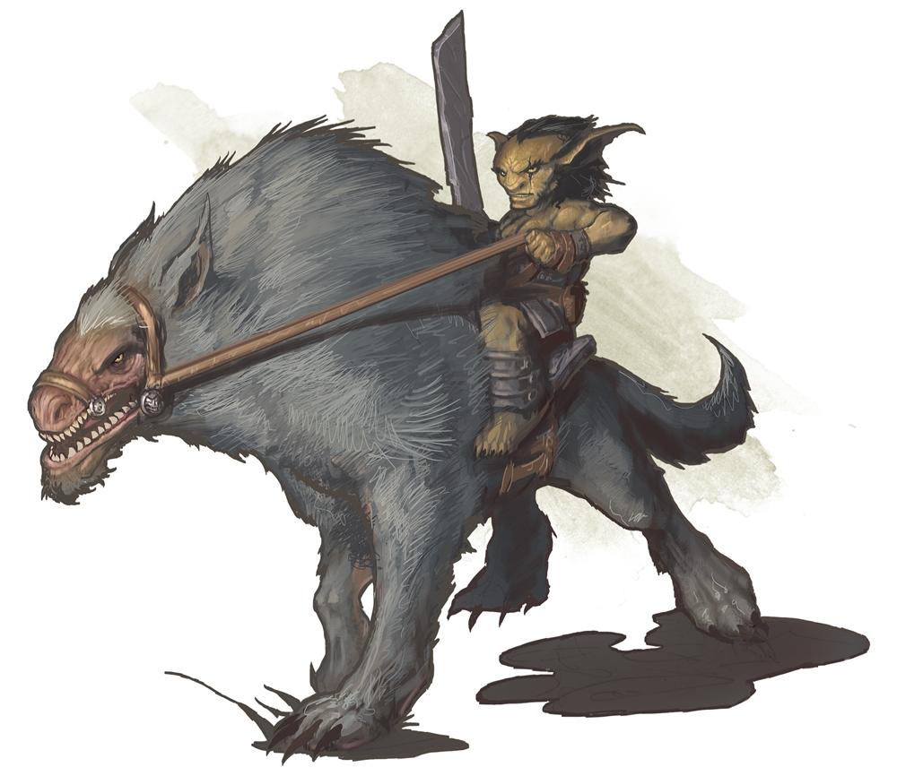 Worg - Monsters - D&D Beyond