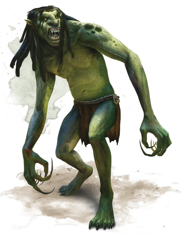 Troll - Monsters - D&D Beyond