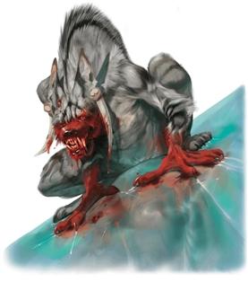 Gnoll Vampire