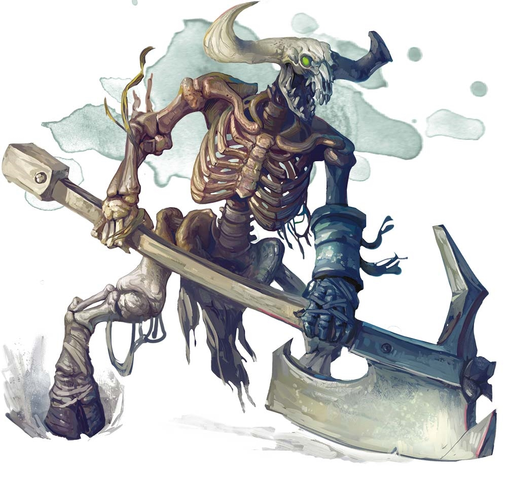 Minotaur Skeleton - Monsters - D&D Beyond