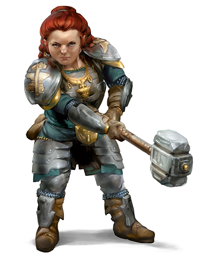 The Dwarf Race for Dungeons & Dragons (D&D) Fifth Edition