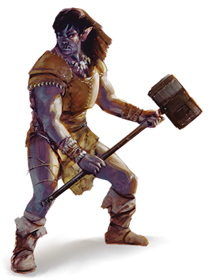 The Half Orc Race For Dungeons Dragons D D Fifth Edition 5e D D Beyond