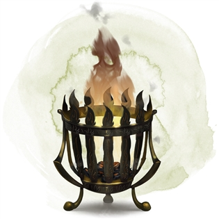 Brazier of Commanding Fire Elementals
