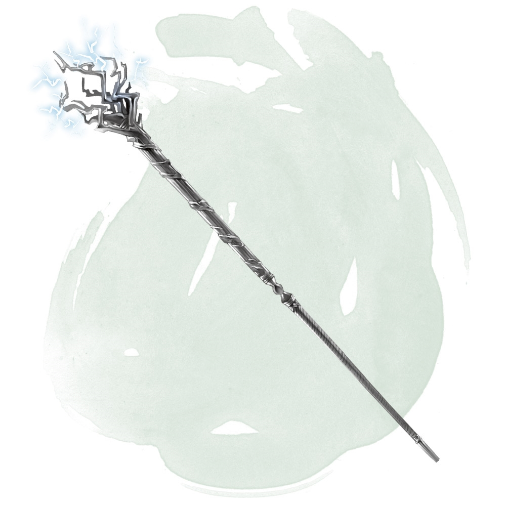 Staff of Thunder and Lightning - Magic Items - D&D Beyond
