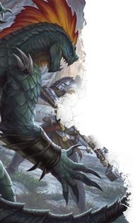 Lizardfolk Render